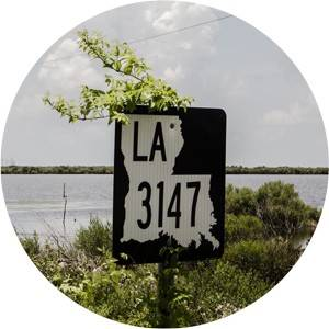 louisiana roadsign