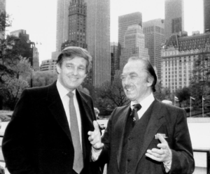Donald and his dad Fred, to whom he owes a lot, as Newsweek details.